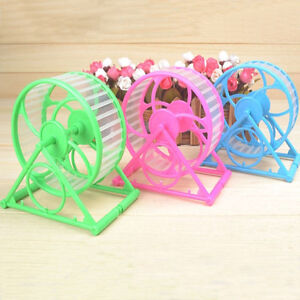 Hot Pet Hamster Mouse Rat Mice Gerbils Running Jogging Wheel Exercise Toys