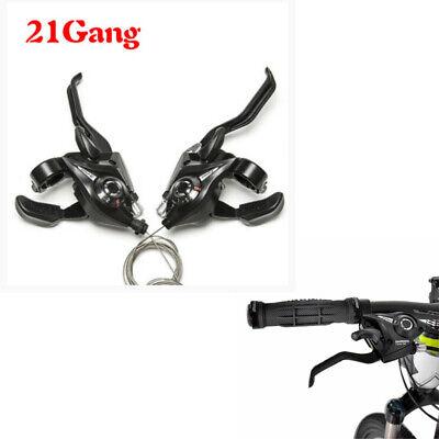 21 Velocidades MTB Bicicleta Mando de Cambios/Maneta Freno Transmisión Palanca.