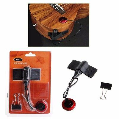 Acoustic Piezo Contact Microphone Pickup For Guitar Violin Ukulele Mandolin