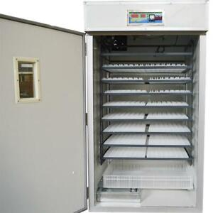110V Commercial Large Scale Poultry Incubator 1584 eggs