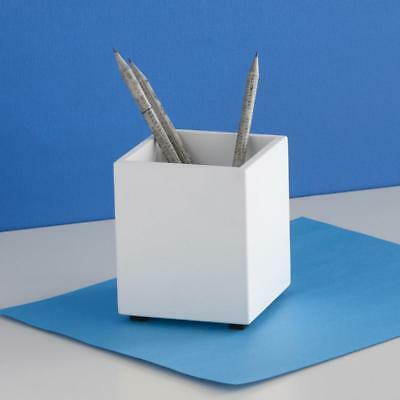 Desk Ideas (design ideas SIMPLE STRUCTURE PENCIL CUP WHITE pen holder cup desk)