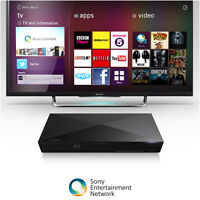 Brand New Sony 3D Blu-ray Disc Player with Wi-Fi