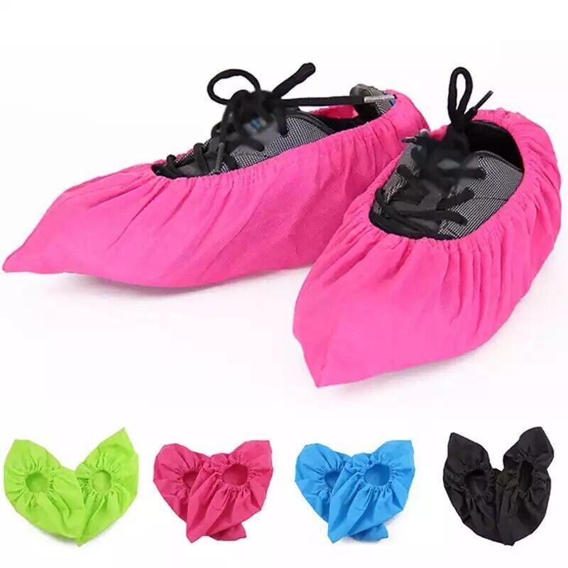 Unisex Cloth Shoe Covers Non-slip washable Reusable