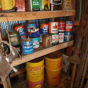 Large amount of antique cans Strathcona County Edmonton Area image 4