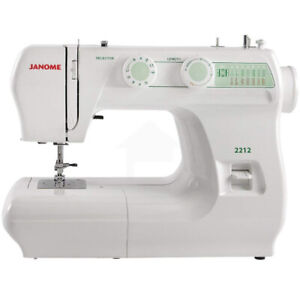 Sewing Machines by Janome : The Janome 2212 frame is made of l