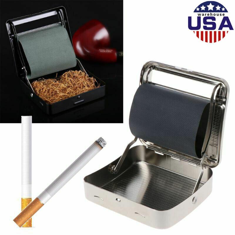 Automatic Cigarette Tobacco Roller Rolling Machine Box Metal 90mm Roller Maker