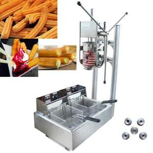 Vertical Manual Churrera Churros Machine020408