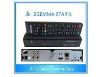 Zgemma Star S HS 2S H1 H2 LC H2S H2H HD DVB SINGLE TUNER SKYBOX OPENBOX VU SOLO2 AMIKO IPTV Box