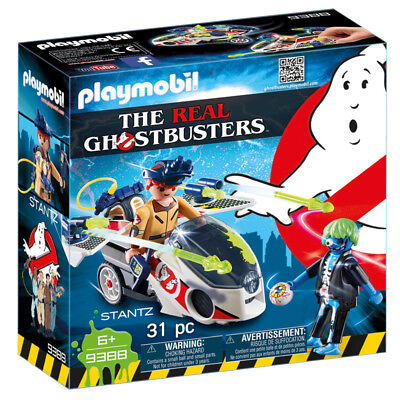 Playmobil The Real Ghostbusters Stantz with Skybike 9388 NEW