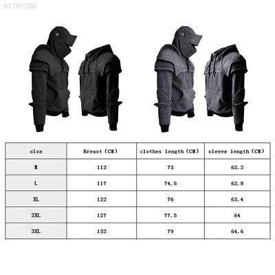 8E4D Mittelalterliche Stil Ritter M-3XL Cosplay Reise Hallowmas Ritter Kleidung ()