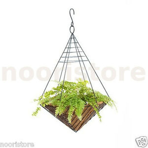 Balcony Hanging Pot Wire Tomato Planter Baskets Plant Holders Pots Basket Holder