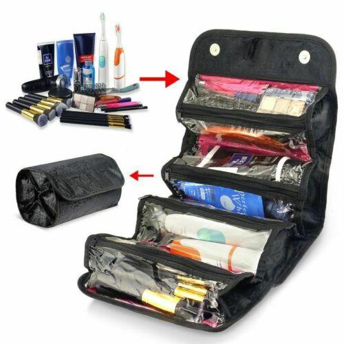 New Travel Cosmetic Makeup Bag Toiletry Hanging Zip Organize
