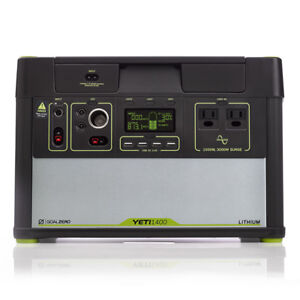 Goal Zero Yeti 1400 Lithium Portable Power Station W/ WIFI