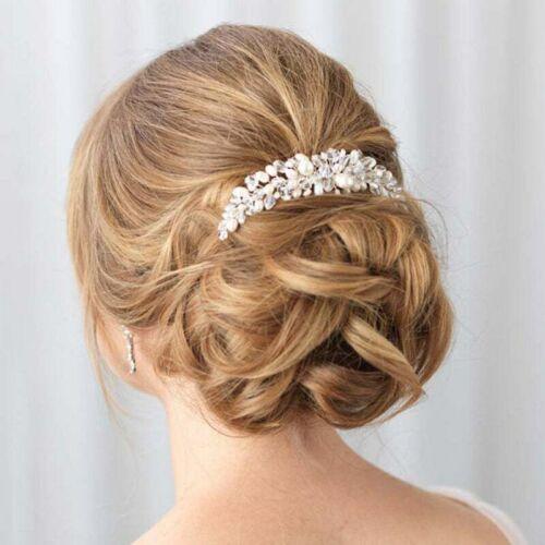 Bridal pearl/crystal hair comb