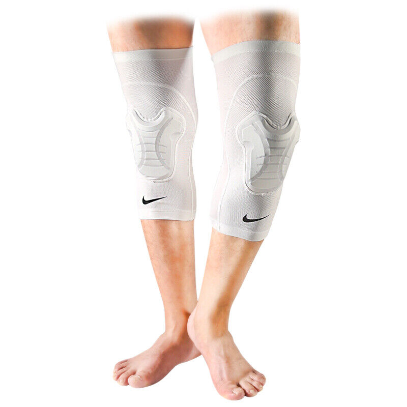 New Nike Hyperstrong Core Universal Padded Knee Sleeve Basketball PAIR LARGE XL