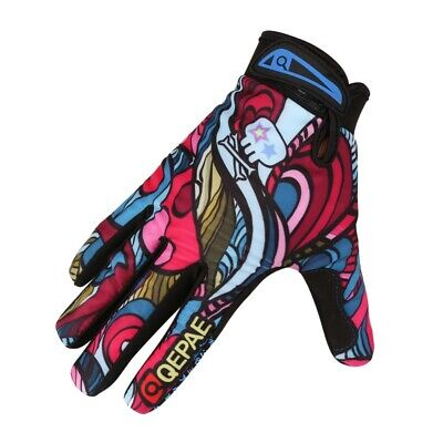 Men Breathable MTB Bicycle Cycling Gloves Full Finger Gel An