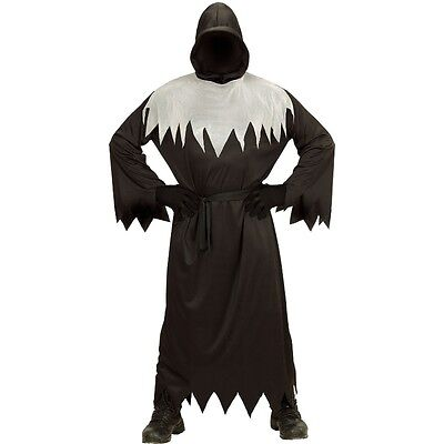 DUNKLE GESTALT Henker Mönch Herren Kostüm S (46) Tunika Halloween - Dunkle Mönch Kostüm