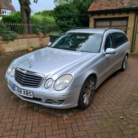 Mercedes Benz E280 CDi Sport Auto 3litre diesel 7 seater estate silver