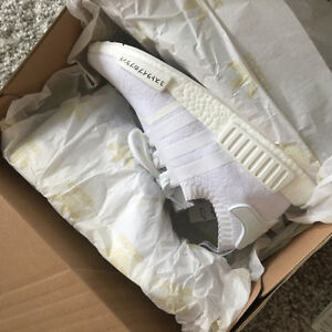 NMD R1 triple white size 9.5 DS