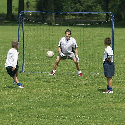 Fußballtor mit Tornetz MIni Trainingstor 182X122X61cm Fußball Tor Übungstor Set