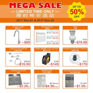 TESCO Building Supplies (特億建材) : Limited Time Offer!