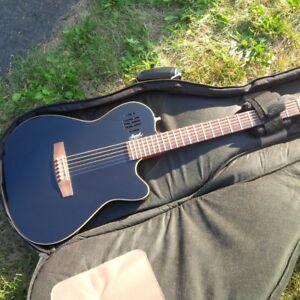 Godin Sa6 with heavily padded gig bag