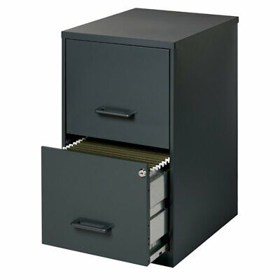 Scranton Co 2 Drawer Letter File Cabinet In Black
