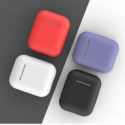 For Apple AirPods 1 2 Earphone Charger Case Protect Silicone Cover Skin Soft New Note 2 Skin