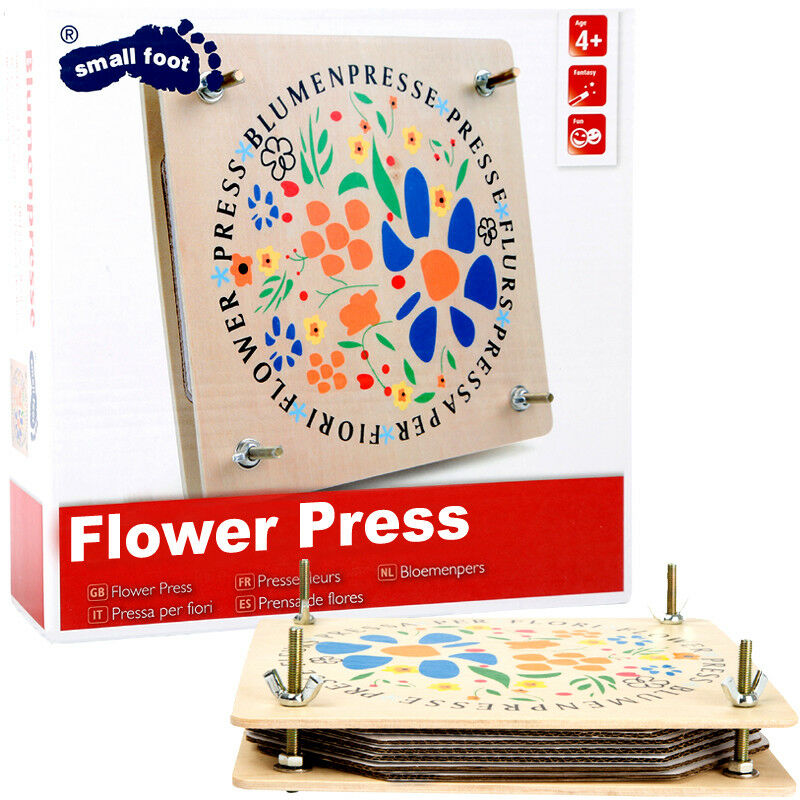 Details About Large Wooden Plywood Flower Press Wingnuts Craft Fun Childrens Gift Activity