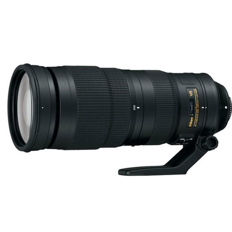 Nikon AF-S NIKKOR 200-500mm f/5.6E ED VR Super Telephoto Zoom Lens Black 20058