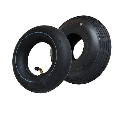 "Decke Reifen 3.00-4"" 260x85 Rillenprofil 4PR Elektromobil Stützräder Sackkarre"
