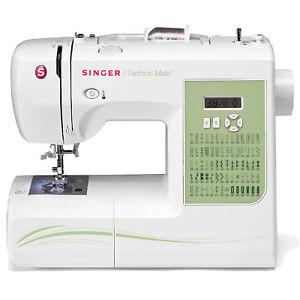 Singer Fashion Mate 70 Stitch Computerized Sewing Machine w/ Automatic Threader