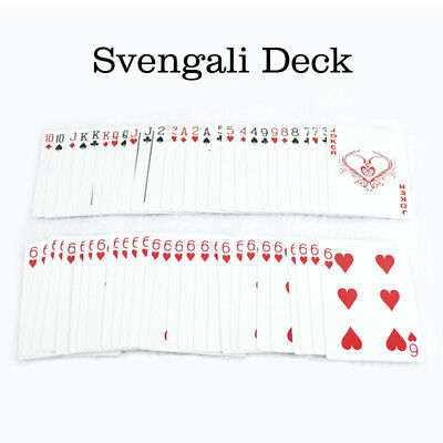 Svengali Deck Magic Gimmick Card Magic Trick for Magician Close Up Street Magic