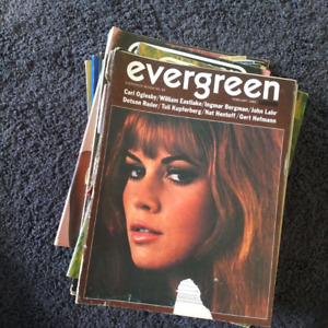 22 Evergreen counter culture Magazines.