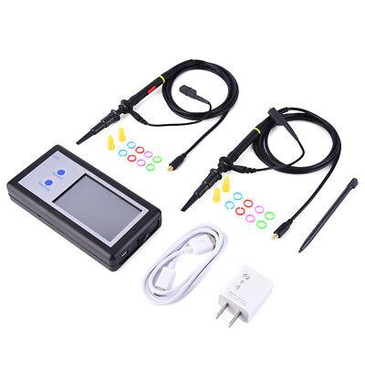 Touch Panel Ds602 D602 200khz 2 Ch Mini Portable Handheld Digital Oscilloscope