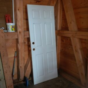 4 solid wood interior doors