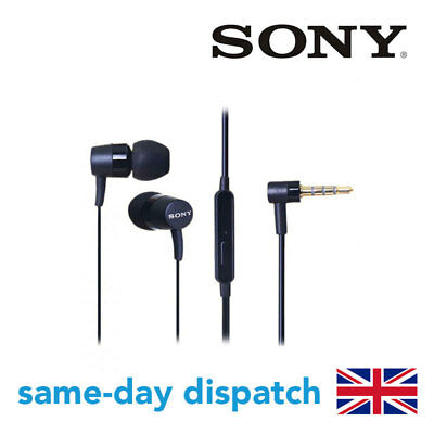 SONY MH750 STEREO HANDSFREE EARPHONES HEADPHONES FOR SONY XPERIA BLACK