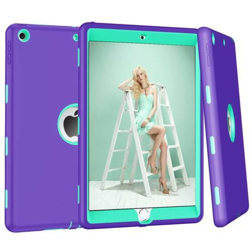 For iPad 10.2 Inch 2019 7th Gen Armor Rubber Shockproof Kids