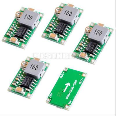 5x Mini 3a 360 Dc-dc Buck Converter Step Down Power Module 4.75v-23v To 1v-17v