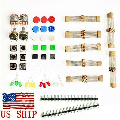 Mixed Electronic Component Package Parts Kit For Arduino Starter Courses