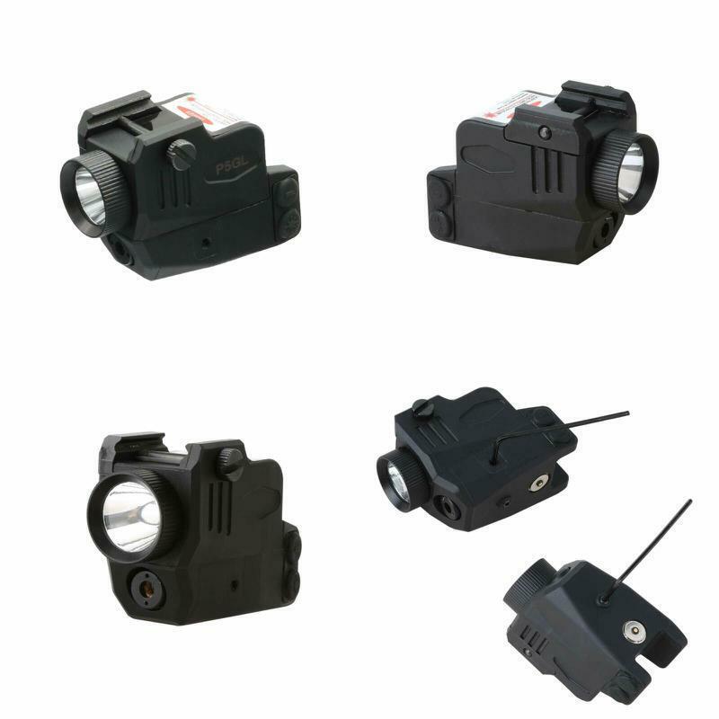 Hilight P5Gl 400Lm Strobe Flashlight Green Laser Sight Combo
