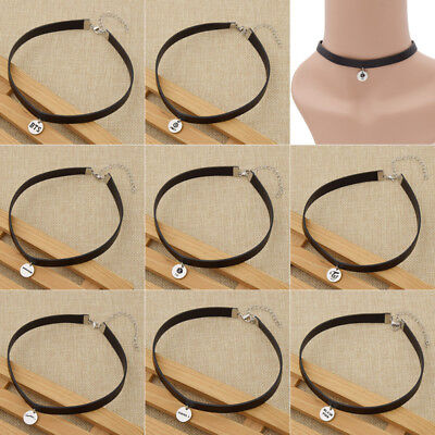1 Pc Kpop Choker Necklace Korean Jewelry Accessories Rock Collar For Men Women