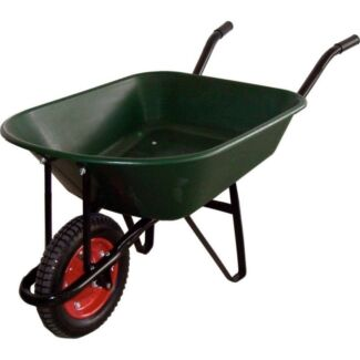 70l poly tub garden wheelbarrow metal frame.  Miller Liverpool Area Preview