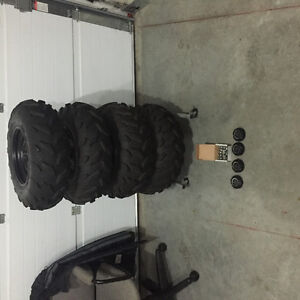 2013 special edition Yamaha Grizzly rims with tires