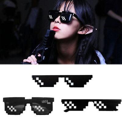 Thug Life Brillen 8 BIT PIXEL Deal With It Sonnenbrille Unisex Brillen Brillen