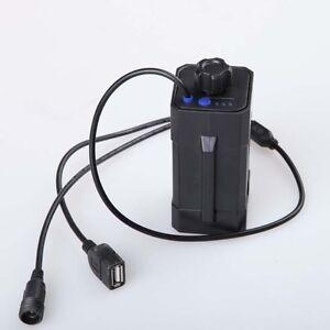 Waterproof 4x18650 Battery Storage Case Box Holder For Bike LED Light Hoc