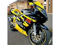 Suzuki GSXR 600 K3 GSX-R Yellow and Black 2003 (03)