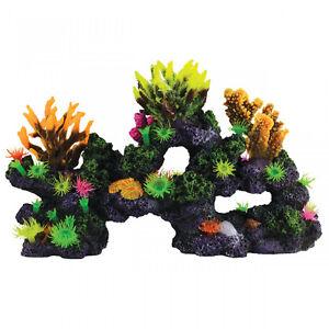 Coral reef aquarium decor