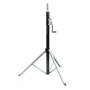 Showtec Goliath Studio 3800 Lighting Stand Wind Up 3.8m 80kg Rigging Light