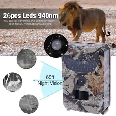 Infrared Night Vision HD 1080P IR 12MP 120�  Trail Security Camera Hunting Cam